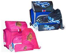 STYLEX Federmappe TROLLS Pink gefüllt 27 tlg Etui Schule Schüler Schreiben NEU