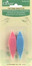 Clover 479 Plastic Tatting Shuttles 2/Pkg-Assorted Colors