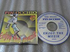 CD-PIN.OCCHIO-ENJOY THE MUZIK-HOUSE PIMPS MIXED-SAVINO-(CD SINGLE)2000-2TRACK