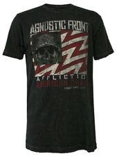 Affliction Top hombre camiseta vintage RIOT RIOT en negro NUEVO + emb.orig