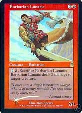 MTG - Odyssey - Barbarian Lunatic - 2X - Foil - NM