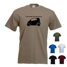 """""""solo SMARTIES hanno la risposta"""" - Divertente Da Uomo Smart per due / Smart Car t-shirt."""