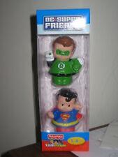 Little People DC Super Friends Superman Green Lantern superfriends 2 pack toy