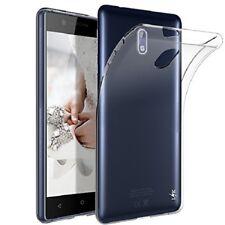 Custodia Cover Case slim in Silicone Trasparente per Nokia 3, 5, 6