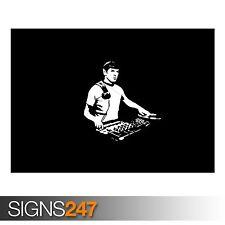 DJ Spock (AD508) FUNNY POSTER-Foto foto poster Arte Stampa A0 A1 A2 A3 A4