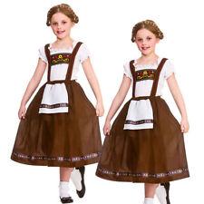 Bavarian Girl Fancy Dress Costume Kids Oktoberfest Fancy Dress Outfit New