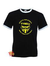 TYRELL CORPORATION Blade Runner distressed retro ringer T Shirt All Sizes