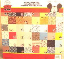 DISNEY Scrapbook Pad Hello Kitty MARVEL Comic Cars Pooh Toy Story PIXAR Mickey