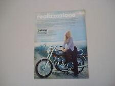 advertising Pubblicità 1973 MOTO NORTON COMMANDO 750