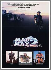 Mad Max 2   1980's Movie Posters Classic Cinema