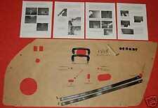 Porsche '73 RS/RSR Style Door panel Do it yourself Kit