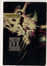 Poetry U.S.A. Paul Malloy Editor SC 1968