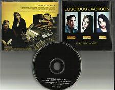 LUSCIOUS JACKSON Electric Honey 4 TRK SAMPLER PROMO DJ CD single 1999 USA MINT