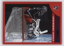 2013-14 Score Red #144 Sergei Bobrovsky Columbus Blue Jackets Hockey Card