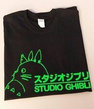Totoro Studio Ghibli Anime NEON GREEN T-shirt Shirt long sleeve Hoodie tank top