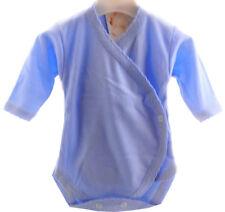 Baby Body Wickelbody 56 62 68 NEU Unisex Neutral 100% Baumwolle Babybody