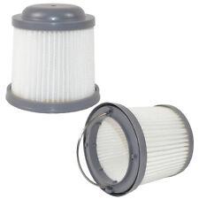 2x HQRP Washable Filters for Black & Decker Pivot Hand Vac Vacuums, PVF110