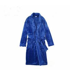 Bathrobe Dressing Gown Sleepingwear Men's Women's Supersoft Coral Fleece
