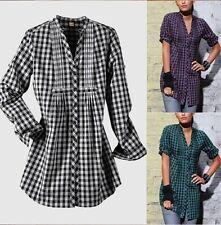 Arizona Blusa NUEVO túnica para mujer T.32 , 34,36, 38,40, 42 Gris Negro Púrpura