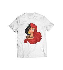 Princess Jasmine Ariel Little Mermaid T-Shirt - Funny Gift For Her Cute Disney