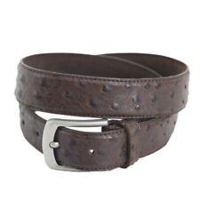 New Ostrich Pattern Leather Belts  - 304  Mens Belt Brigalow