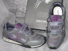 GEOX HalbSchuhe Schuhe SNEAKER Blinky Blinker grau lila B13G2B