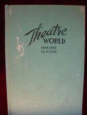 Theatre World, 1944-45 Season, Edited by Daniel Blum