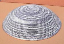 """H.Quality Knitted Kippah 6"""" Jewish Hat Yarmulke Kipah Kippa Soft crochet Kipa"""