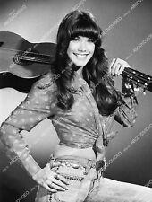 3381-016 stunning Barbi Benton w her guitar TV Midnight Special 3381-16