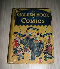 RARE THE GOLDEN BOOK OF COMICS COLOUR PLATES COMIC STRI