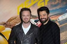 Aaron Paul & Dominic Cooper, Film Actors, Need for Speed, Photograph