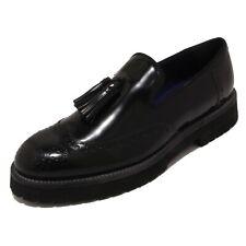 4254P mocassino uomo UNO 8 UNO nero shoe men