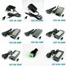 12V 1A-15A 12W-180W AC DC Trafo Netzteil Driver für SMD LED RGB Strahler Strip