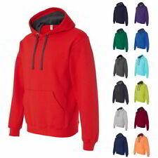 5e5280e66289 Fruit of the Loom SofSpun 2 Color Mens Hoodie Pullover Sweatshirts SF76R