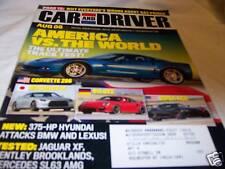 Car and Driver Magazine 8/2008 Corvette Z06