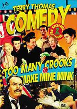DVD: Terry Thomas Double Feature: Too Many Crooks & Make Mine Mink, Mario Zampi,