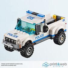 LEGO CITY UNDERCOVER Vinile Decalcomania Muro Adesivo Kids auto della polizia