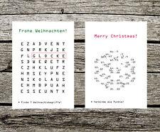 Weihnachtskarte, Postkarte Weihnachten, Grußkarte Weihnachten, Weihnachtskarten