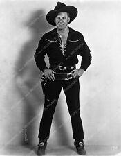 8b4-113 cowboy star George O'Brien portrait 8b4-113
