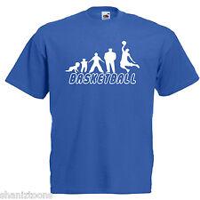 BASKET Basketballer Adulti Da Uomo T Shirt 12 Colori Taglia S - 3XL