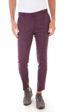 Pantaloni Daniele Alessandrini Trouser -60% Italy Uomo Bordeaux P3323N7433605-14