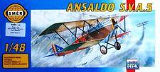 Ansaldo Sva 5 (Regia Aeronautica/italiano & U.S. Army Air Corps MKGS) 1/48 Smer