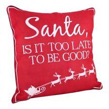 Novelty Christmas Cushion Red Santa Various Designs Pillow Decoration Comical