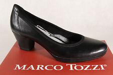 Marco Tozzi 22420 Zapatos De Tacón Mocasines Negro antishokk NUEVO