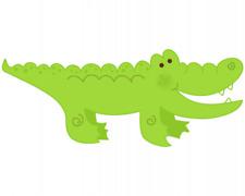 Krokodil Aufkleber Sticker Autoaufkleber Scheibenaufkleber