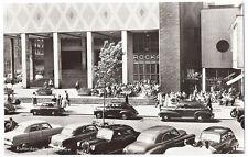 1950s Real Photo Postcard RPPC - Rotterdam, Beursgebouw - Great Vintage Cars