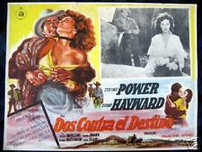 1951 RAWHIDE~TYRONE POWER~SUSAN HAYWARD~ORIG. LC