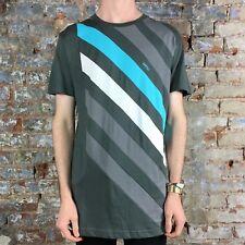 WESC jocke Casual T-Shirt-Nuovo di zecca in ombra scura Taglia: M