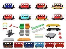 Playmobil Eisenbahn Personenwagen 4000 4001 4005 4117 4118 4120 Einzelteile