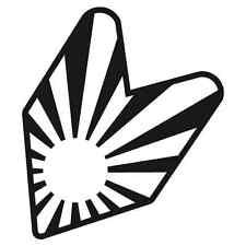 p908 Bandera Sol Nacien JDM Pegatina Decals Vinilo Sticker Adhesivo Coche Tuning